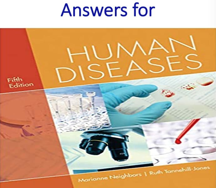Answers for Human Diseases 5th Edition